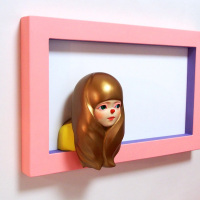 Emi Katsuta, login - light pink -