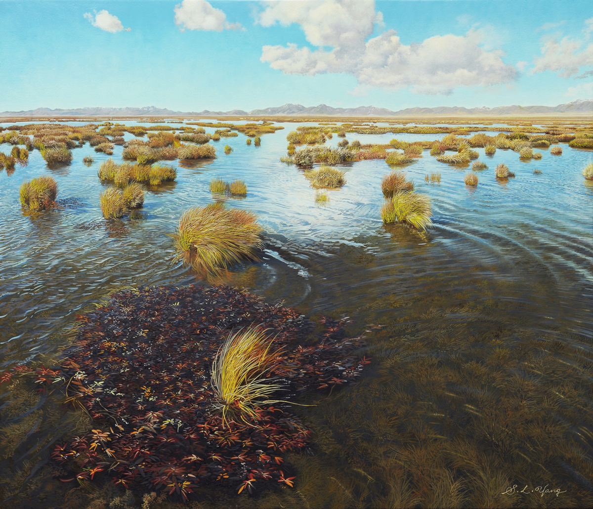 Yang Shao Liang, oil on canvas, F10, 2011