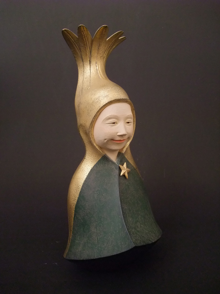 Akihiro Fujimoto, h32 x w15 x d13cm