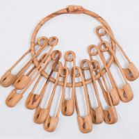 Hiroshi Kanzaki, x 13, ring : 4.6 x 45 x d45cm  clip : 3.8 x 35 x d8cm