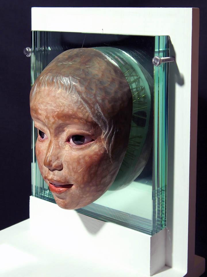 """Akira Miyamoto, """"Fearless"""", 230h x 200w x 120d  (mm), 2012"""