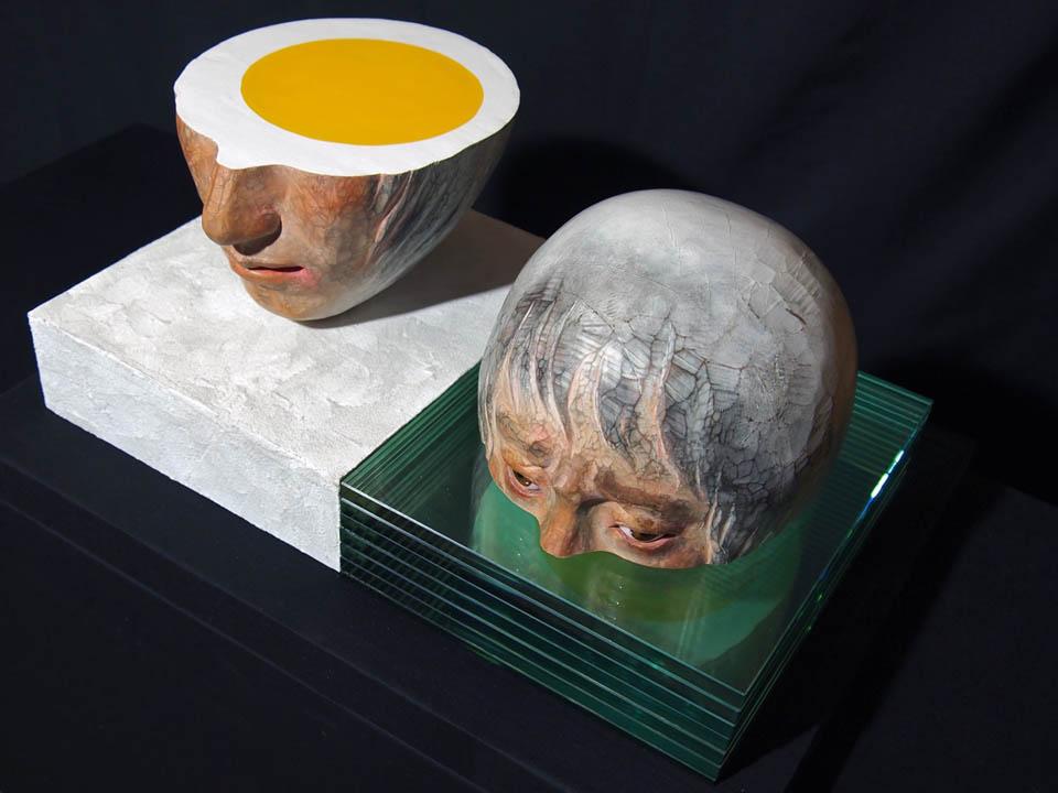 """Akira Miyamoto, """"""""Phase Transposition"""", 400w x 175h x 230d (mm), 2011"""