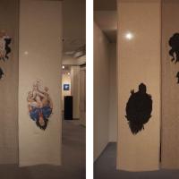 """Akira Miyamoto, """"hokusai ekiben bomber"""", 1420h x 720w (mm), 2014"""