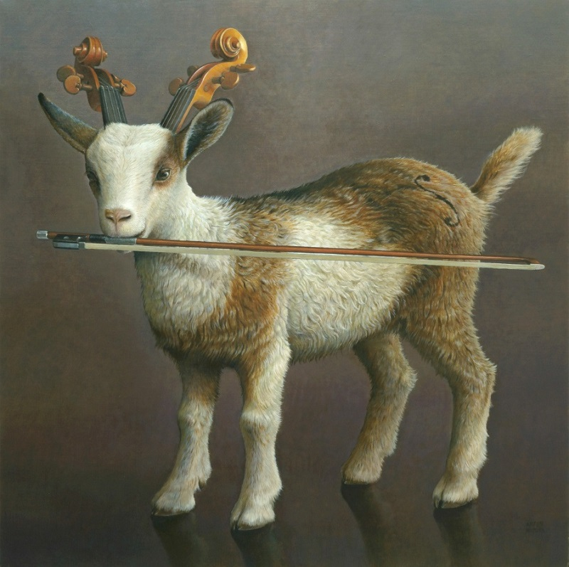 奥村晃史「弓をくわえた山羊」S20