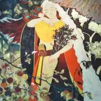 Sanami Shimada, LOVELESS, 2019, 162 × 130.3 × 2.1 cm