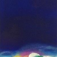 "Emiko Aoki ""someday. forever"", 33.4×24.3cm, oil, acrylic, pastel on canvas"