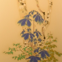 Shigemi Yasuhara, the scent of rain, 71.0×38.0cm