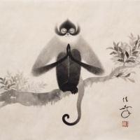 Toshiyuki Enoki, Meditation, 8F (h 380 x 455 mm)