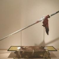 Hiroyoshi Asaka,  BUKIMON - Rising Fire Dragon -, H 1,250 × W 2,300 × D 450 cm