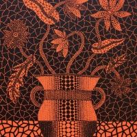 Yayoi Kusama, Flower, 1993, ed 160, 27.3×22.0 cm