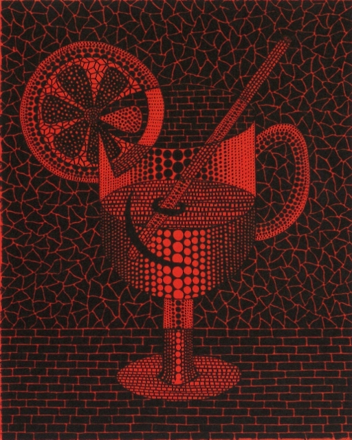 Yayoi Kusama, Lemon Squash, 1992, ed 150, 27.5 × 22.0 cm