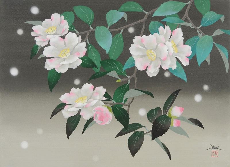 Hiroki Takahashi, Sazanka (Sasanqua), P8 (455 x 333 mm)