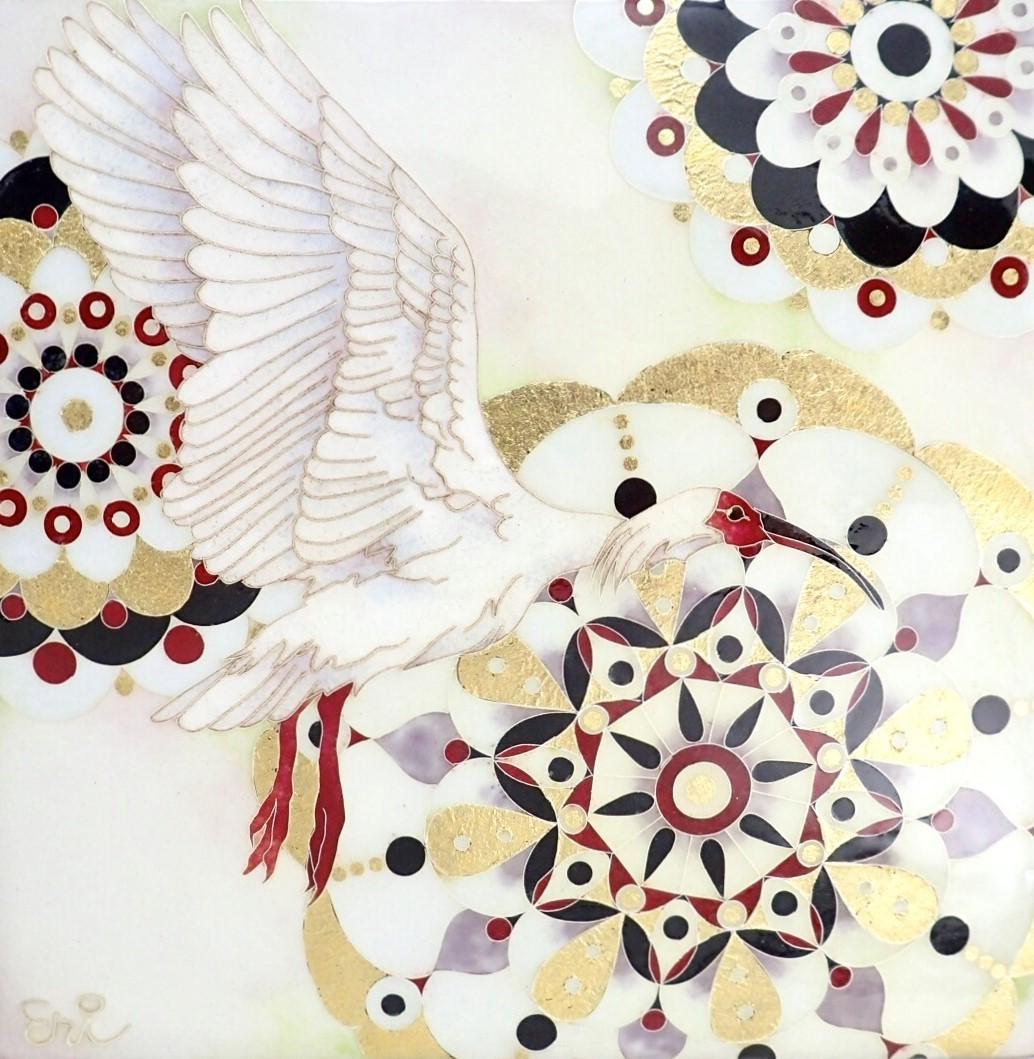 Eri Muranaka, Time, 200 x 200 x 35 mm