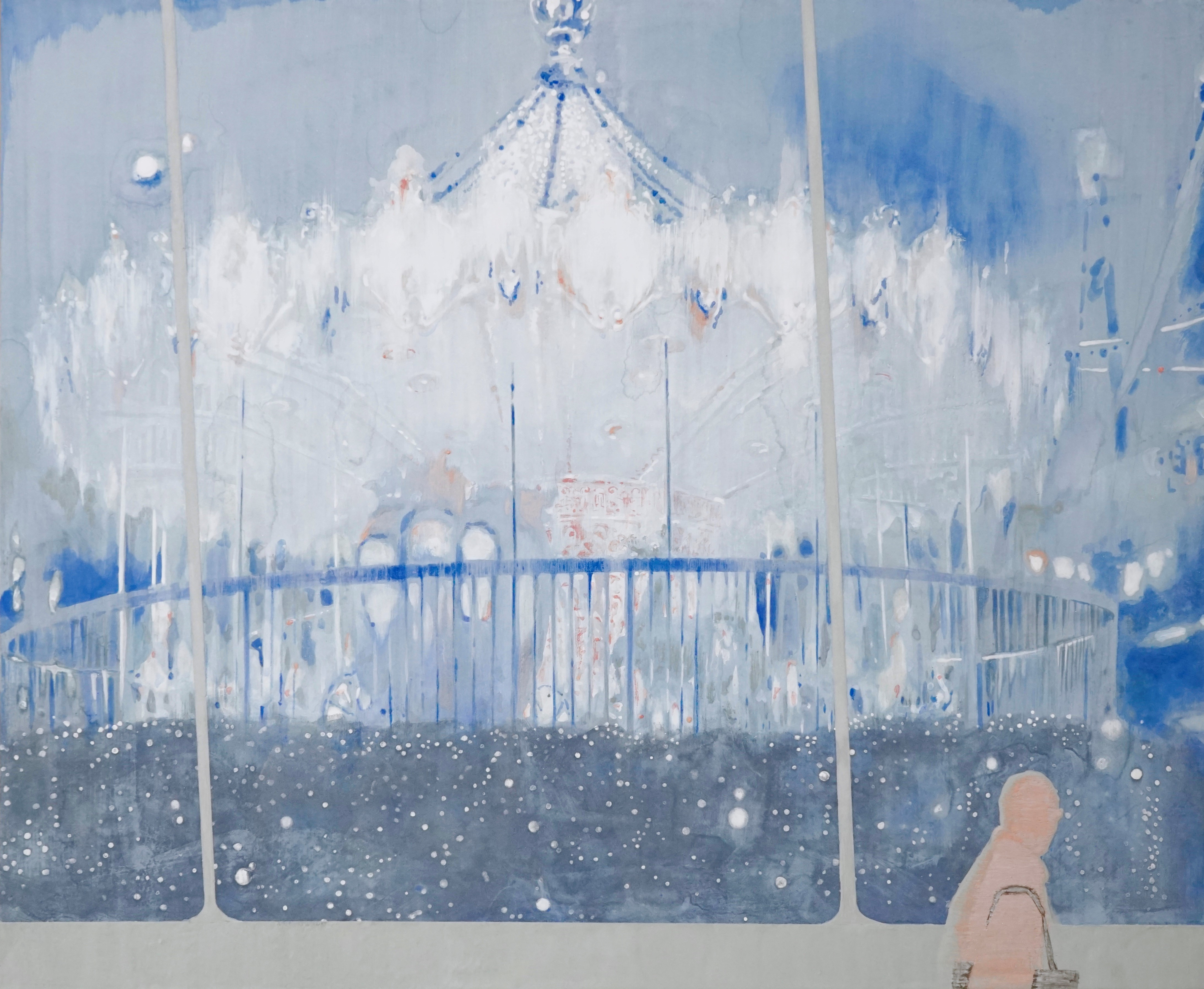 Maria Noto, Paradise in Rain,  h 530 x 652 mm
