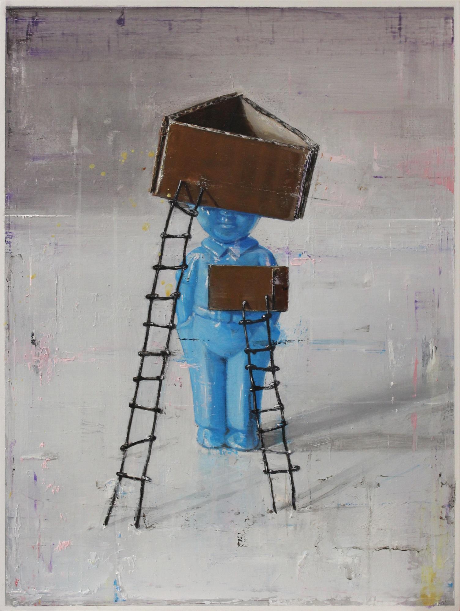 Yohei Yashima, Wallman, 2018, 40 × 30 cm