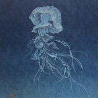 Jellyfish, 2019, F6 (41.0 x 31.8 cm)