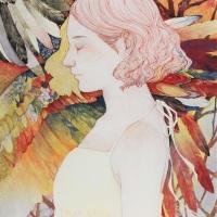 Sanami Shimada, The Wind Of Heaven, 2019, 53 × 45.5 cm
