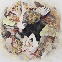 Sanami Shimada, Happy Birthday, 2018, 145.5 × 145.5 cm