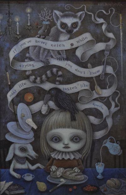 machumaYu, Taste of life, 2019, 33.3×22 cm