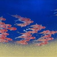 Shinji Oya, Kourin(Light Ring), 22×54.6 cm