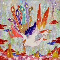 Koki Tsujimoto, Auspicious Phoenix: Tsukihiki, 2019, 53 × 53 cm