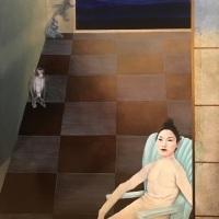 Hyemi Cho, Why, 2019, 55.9 × 45.7 cm