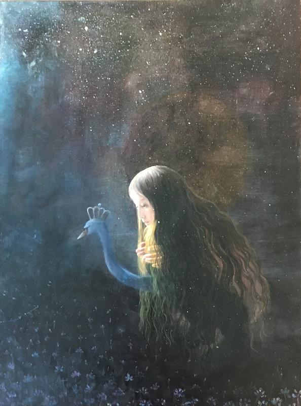 Hyemi Cho, Confidante, 2018, 40.6 × 30.5 cm