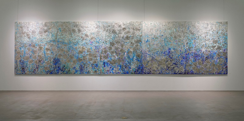 「Memory of the sense of sea-I-」162.0×650.0cm