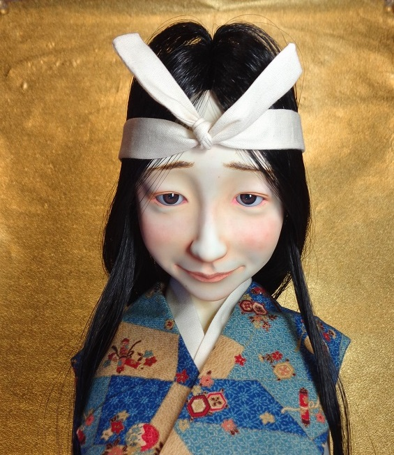 Jun Kamei, Chinju 48: Manako, h50×18×18 cm
