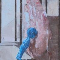 Yohei Yashima, Hand Ⅰ, 2019, 30×24 cm, Oil on canvas board