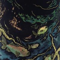 中島敦子「楽園より」P100号, 2002