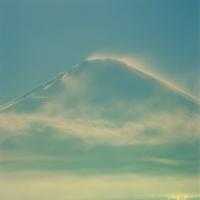 遠藤桂「青碧 –SEIHEKI-」写真デジタルピグメントプリント, 37.5x37.5cm