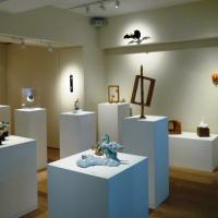 蓮の会-木彫-, 展示風景
