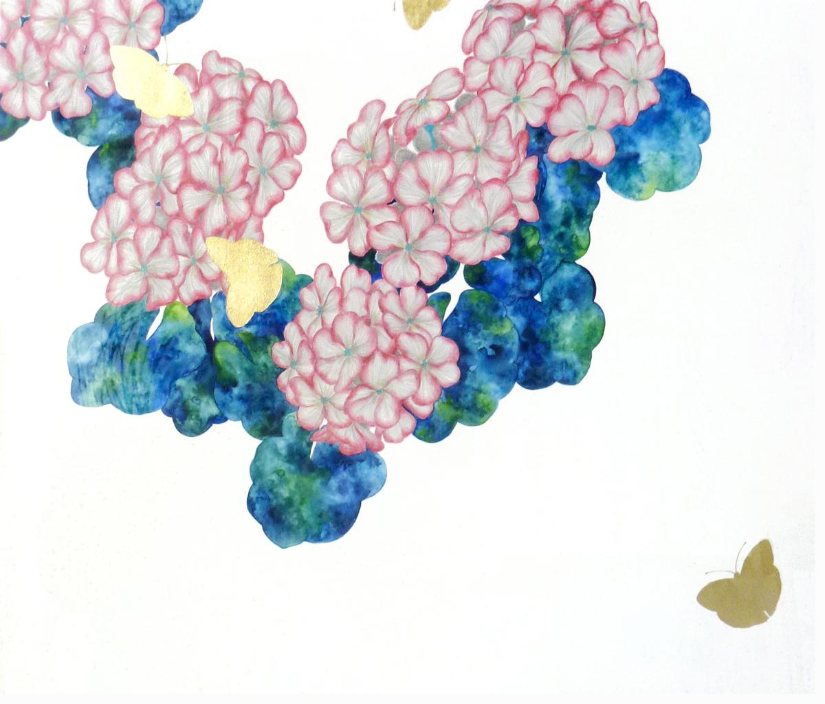 藤本麻野子「ゼラニウム」F8