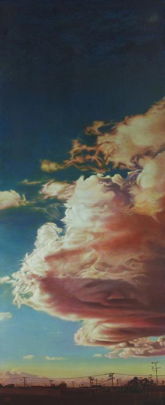 池尻育志「部屋の窓から見た風景」変形60号