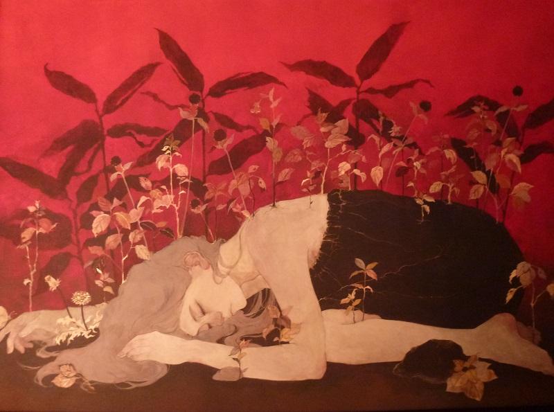 島田沙菜美「愛の証明Ⅰ」2014、P50号