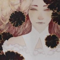 島田沙菜美「Regret」2015、F6号
