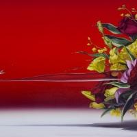 青山ひろゆき「アリス」M30,油彩・キャンバス