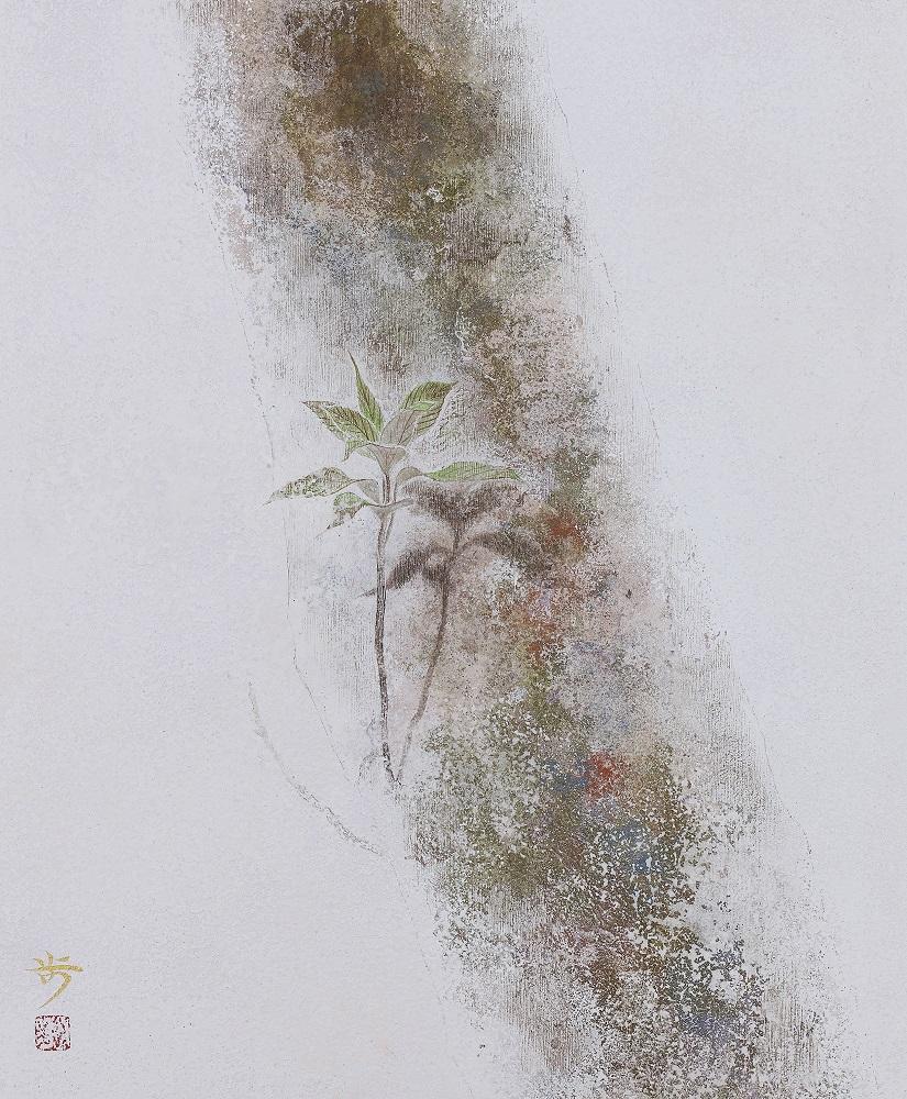 松岡歩「春」 F8号 2016年