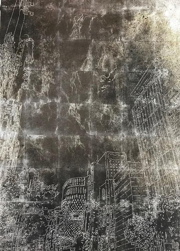 瀬藤貴史「街ときどき待ち #3」