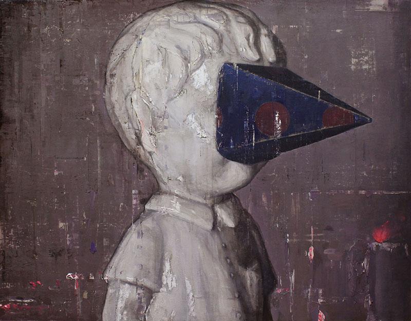 盲目なボーイ_116.7×91.0cm