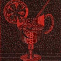 草間彌生「レモンスカッシュ」1992, ed 150, 27.5 × 22.0 cm