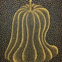 草間彌生「かぼちゃの神様」 1993, ed120, 65.5×53.5cm