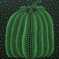 草間彌生「かぼちゃ(GT)」1996, ed120, 29.8×22.8cm