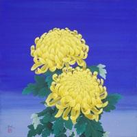 髙橋浩規「大輪菊の花」S6
