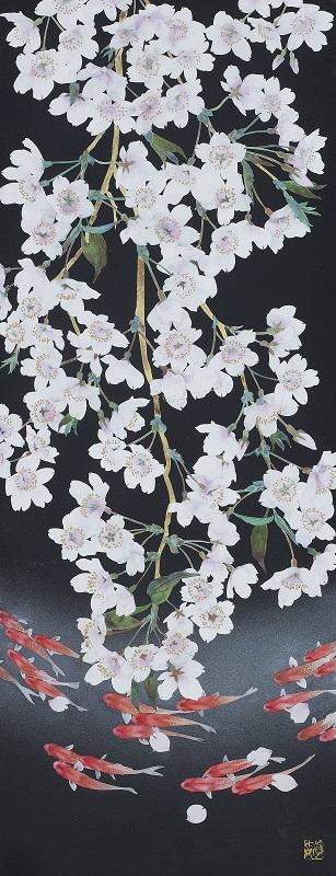 大矢真嗣「春風」 27.0×70.0 cm