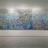 Song Yeonjoo「Memory of the sense of sea-I-」162×650 cm