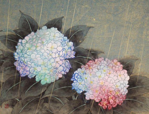 田口由花「五月雨」