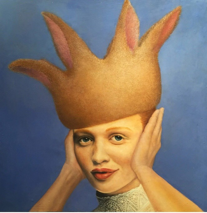 Hyemi Cho, Listen or not, 2016, 30.5×30.5 cm
