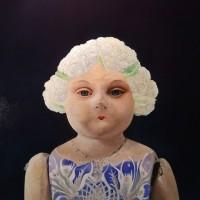 Hyemi Cho, Lupita cauliflower doll, 2016, 30.5×30.5 cm